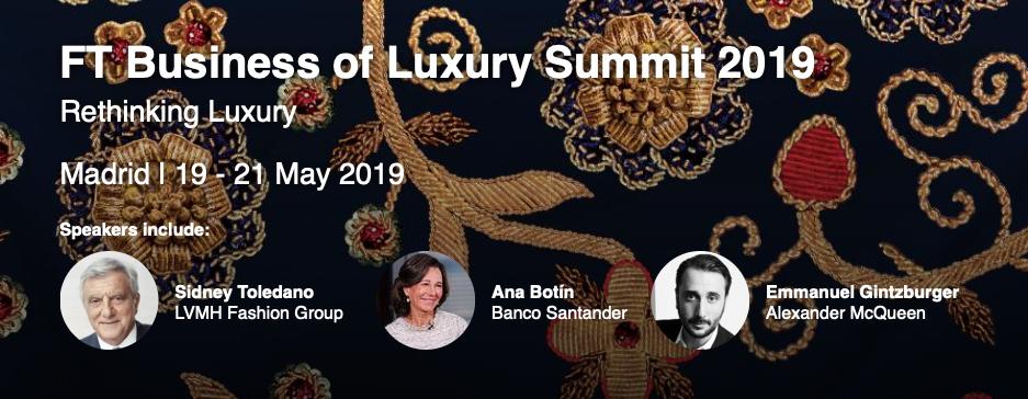 Imagem da notícia: Conferência de Luxo 2019 é em Madrid