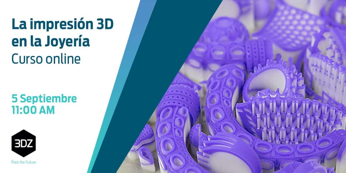 """Imagem da notícia: Inscreva-se no curso online  """"Impressão 3D em joalharia"""""""