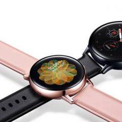 Imagem da notícia: Samsung lança o relógio inteligente Galaxy Watch Active2