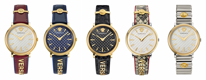 Imagem da notícia: Versace revela coleção V-Circle Logomania Edition