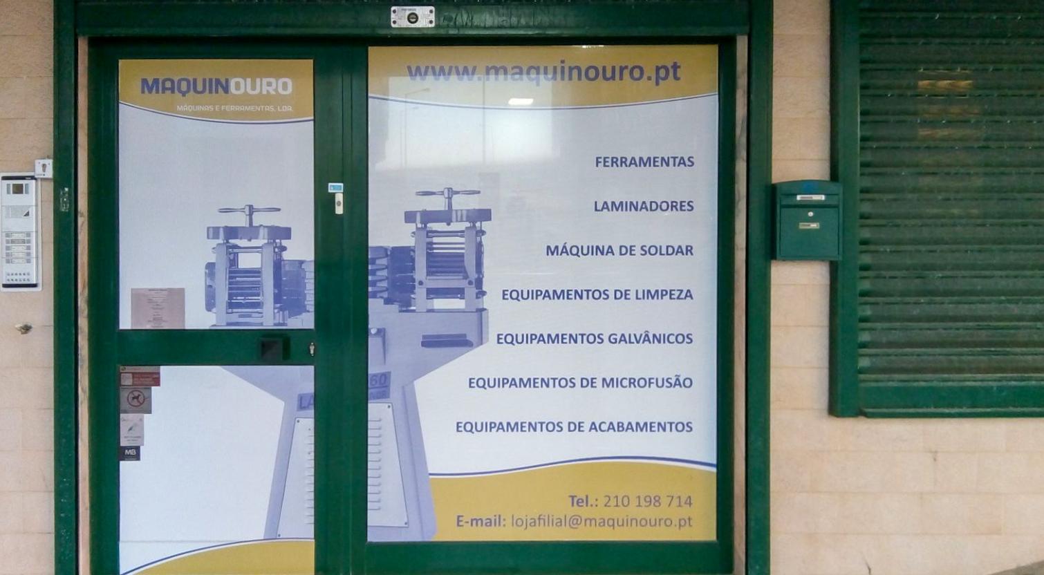 Imagem da notícia: Maquinouro aposta na loja de Lisboa