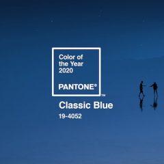 Imagem da notícia: Azul Clássico, a cor de 2020