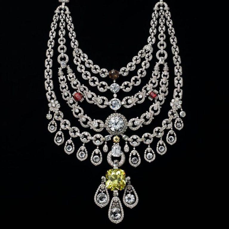 """Imagem da notícia: Colar Patiala da Cartier, """"uma das joias mais notáveis"""""""