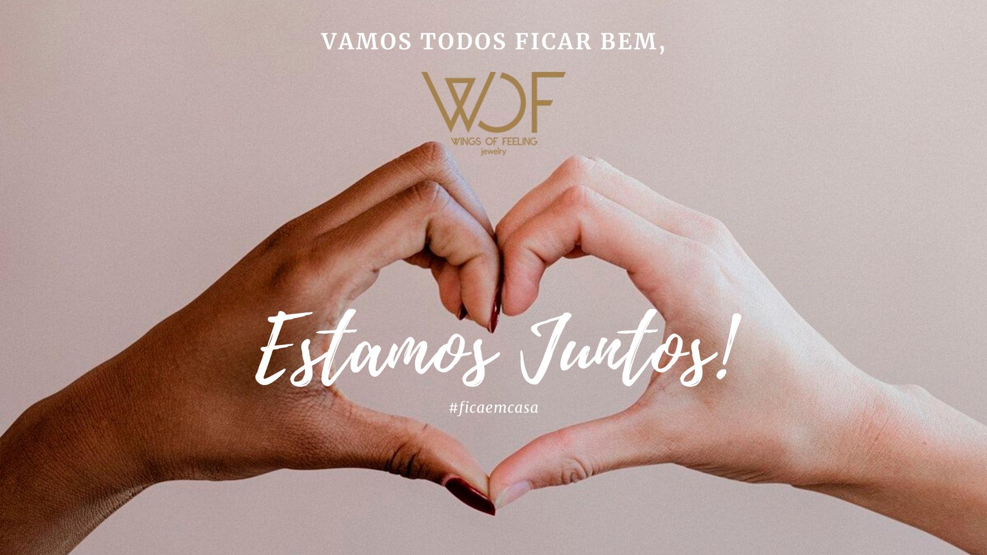 """Imagem da notícia: WOF cria linha de joias """"Estamos Juntos!"""""""