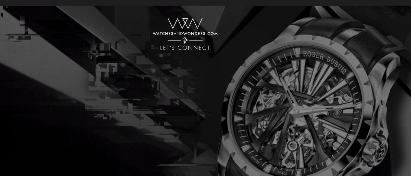 Imagem da notícia: Watches & Wonders 2020  com edição online