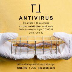 Imagem da notícia: Tincal lab lança ANTIVIRUS online e reúne 86 artistas