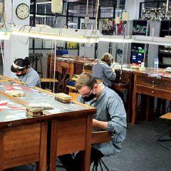 Imagem da notícia: Aulas em oficina já foram retomadas no CINDOR