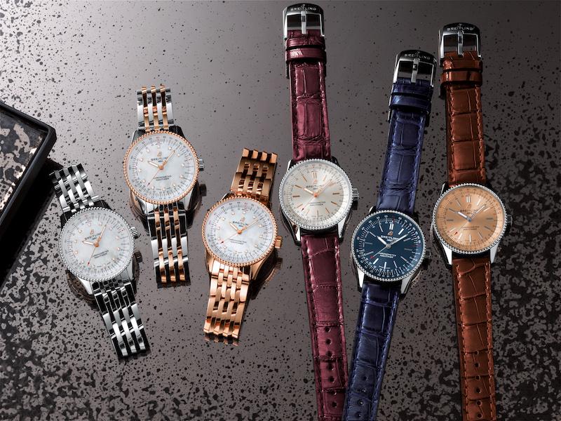 Imagem da notícia: Breitling Navitimer Automatic 35, para mulheres cosmopolitas