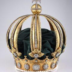 Imagem da notícia: Coroa de D. Pedro II, um dos tesouros mais importantes do Brasil