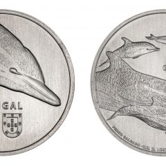 Imagem da notícia: INCM lança moeda dedicada ao golfinho-comum