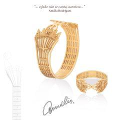 Imagem da notícia: Ouronor cria marca de joias em homenagem a Amália Rodrigues