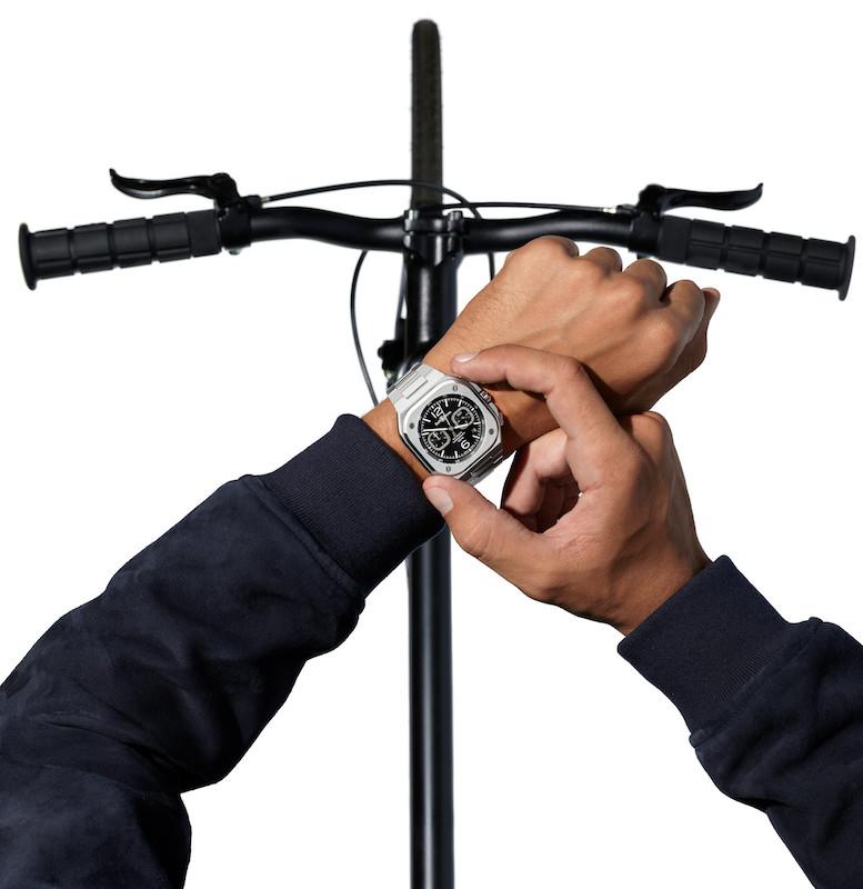 Imagem da notícia: BR 05 Chronograph, o novo ícone da Bell & Ross