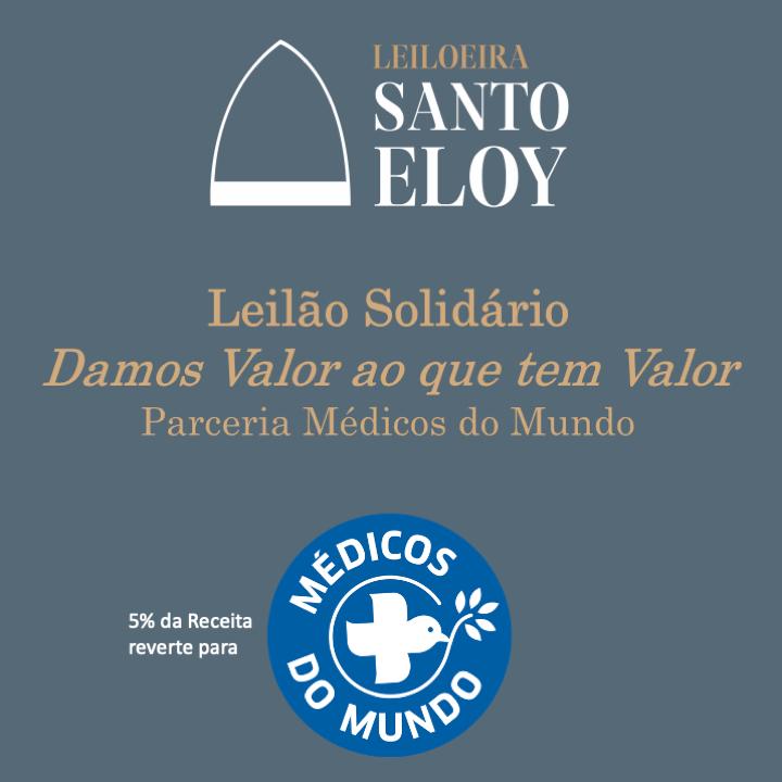 Imagem da notícia: Leiloeira Santo Eloy apoia Associação Médicos do Mundo