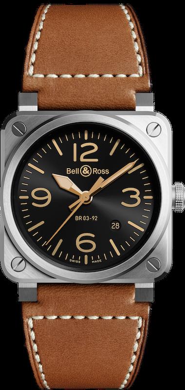 Imagem da notícia: Bell & Ross apresenta novo relógio GOLDEN HERITAGE
