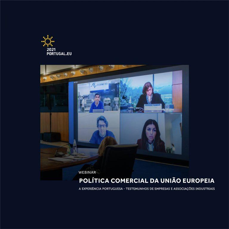 """Imagem da notícia: AORP no webinar """"Política Comercial da União Europeia"""""""