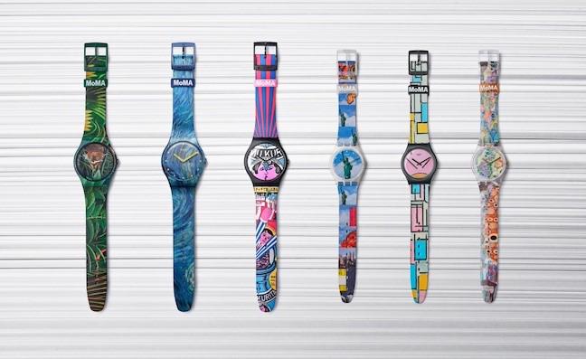Imagem da notícia: Swatch e MoMA fazem coleção especial de relógios