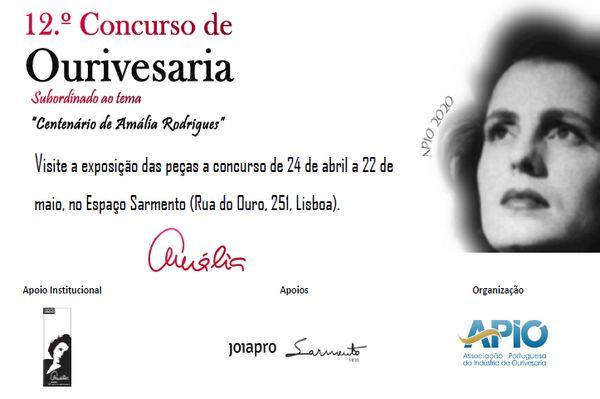 Imagem da notícia: Exposição do 12ºConcurso de Ourivesaria APIO em mostra até 28 de maio