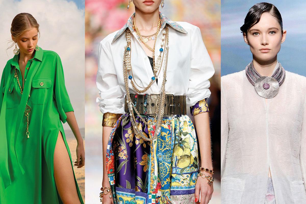 Imagem da notícia: Joias preciosas e bijuteria alegre são os acessórios para usar na primavera