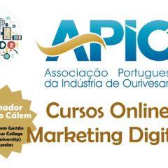 Imagem da notícia: APIO: Abertas as inscrições para os cursos Marketing Digital na Ourivesaria