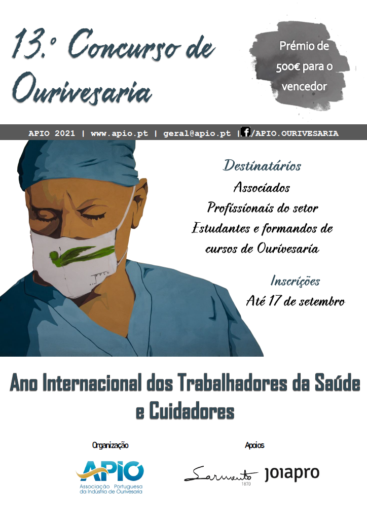 """Imagem da notícia: """"International Year of Health Care Workers and Carers"""": 13th Silverware Competition (APIO) already started"""