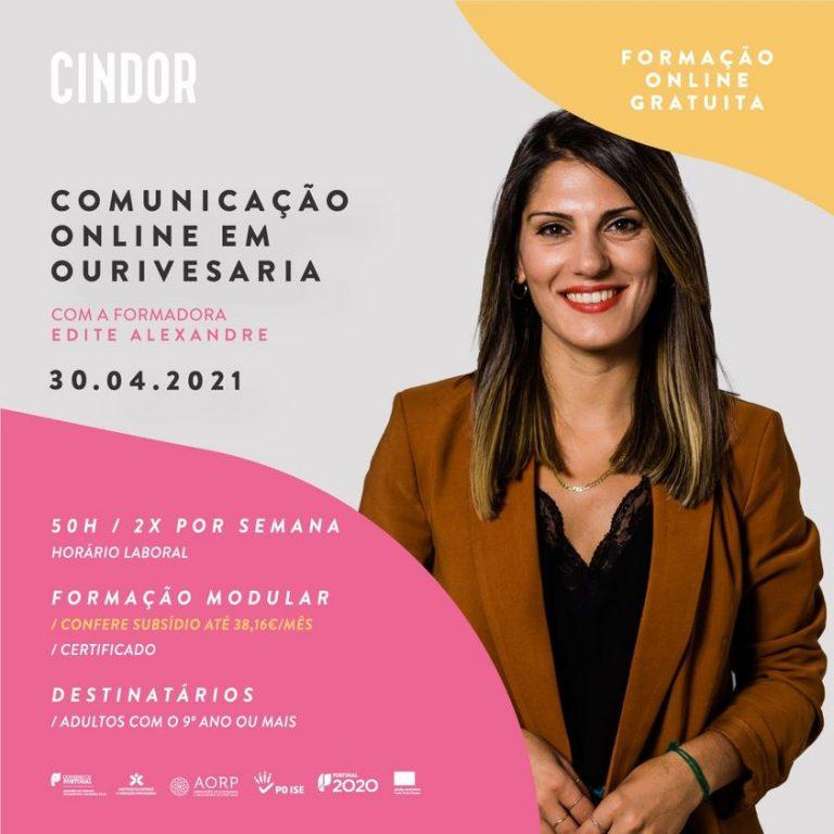 Imagem da notícia: Cindor: formação de comunicação online em ourivesaria