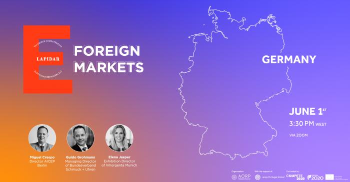 Imagem da notícia: E-Lapidar debate o Mercado da Alemanha