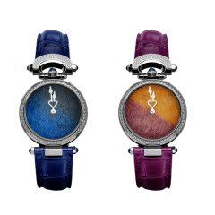 """Imagem da notícia: Bovet 1822 cria o Miss Audrey Sweet Art, um relógio """"açucarado"""""""