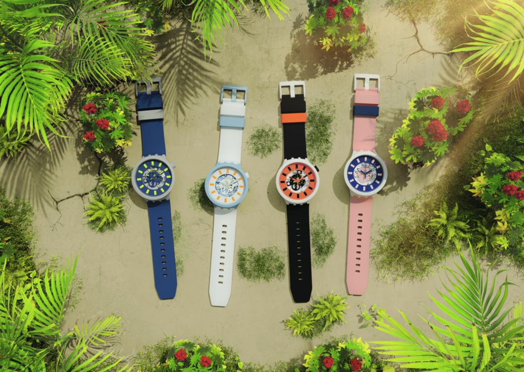 Imagem da notícia: Swatch apresenta as novas cores da coleção BIG BOLD BIOCERAMIC