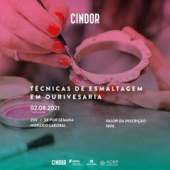 Imagem da notícia: Técnicas de Esmaltagem em destaque no CINDOR