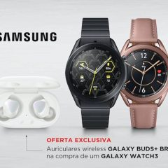 Imagem da notícia: Samsung junta-se à Boutique dos Relógios e disponibiliza novo Galaxy Watch3 com oferta exclusiva