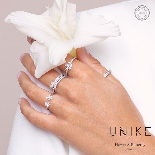Imagem da notícia: UNIKE Jewellery apresenta coleção Flower