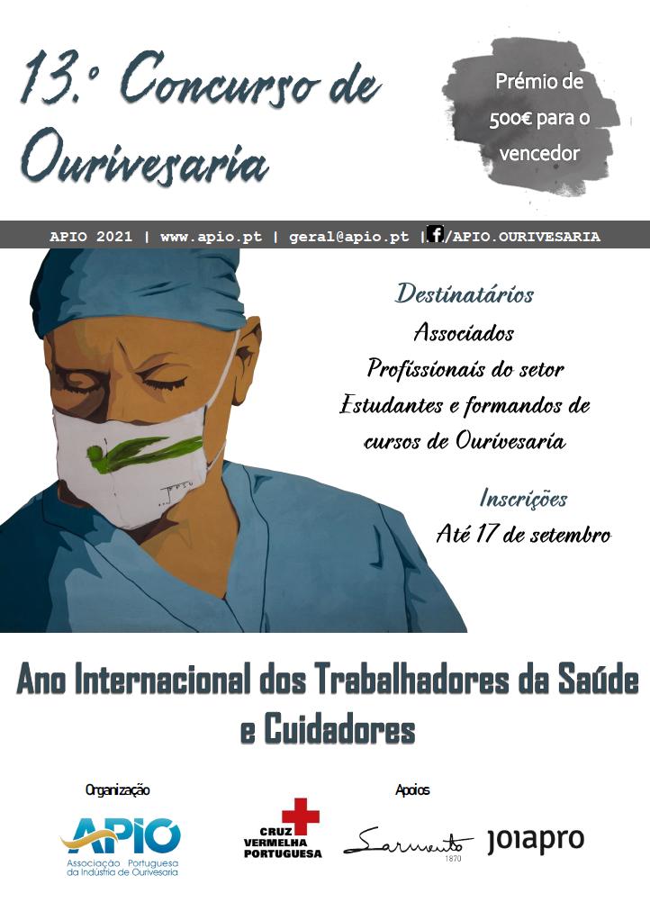 Imagem da notícia: 13.º Concurso de Ourivesaria APIO conta com o apoio institucional da Cruz Vermelha Portuguesa