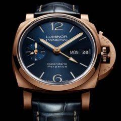 Imagem da notícia: Panerai adiciona ao portefólio o Luminor Perpetual Calendar Panerai Goldtech™ e o Platinumtech™